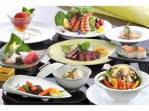和洋会席 MISAKI【あわびとステーキのダブルメイン】夏メニュー