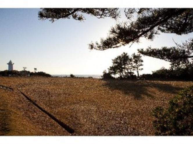 宿から徒歩3分 灯台公園
