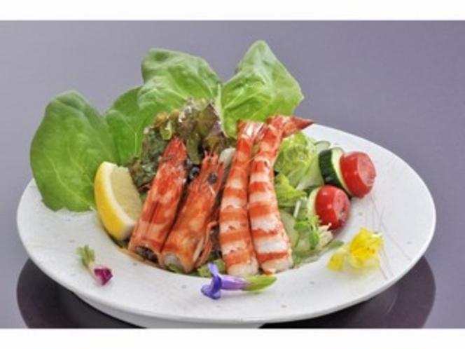 車海老のサラダ