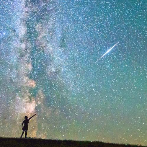 少年と銀河と流星