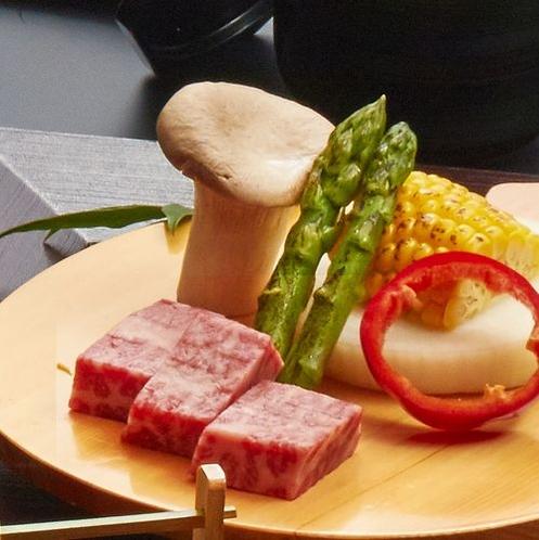 平成30年 夏 夏のかほりサーロインステーキ
