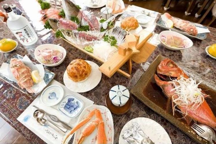 料理の一例12 ※料理内容は、季節や仕入れ状況によって多少変わります。