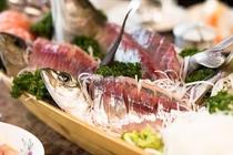 料理の一例4 ※料理内容は、季節や仕入れ状況によって多少変わります。