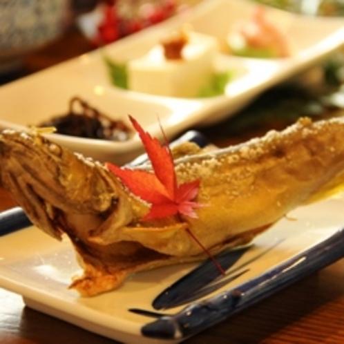夕食 焼き魚