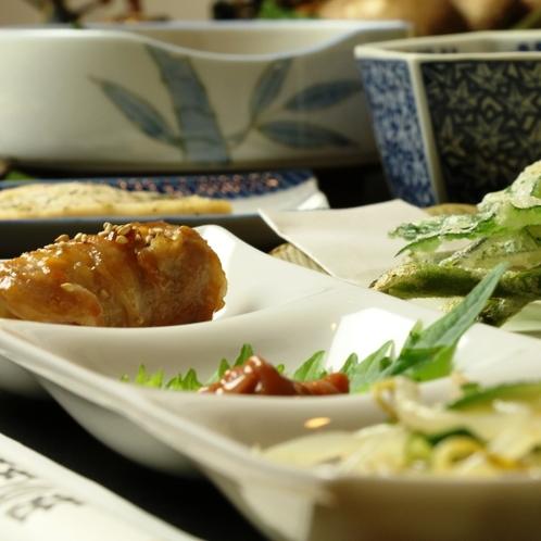 【山菜料理】季節限定♪山菜料理をご賞味下さい。