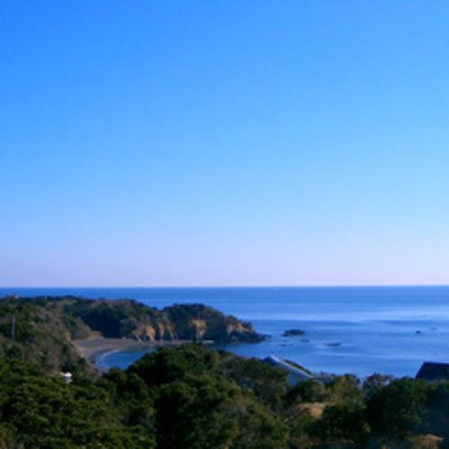 雄大な太平洋と緑に囲まれた自然豊かな環境です