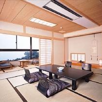 海の見えるお部屋。客室一例