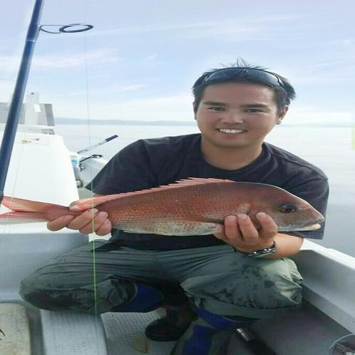 魚は若旦那が獲ったものだけをご用意致します。これぞ、鮮度抜群!!