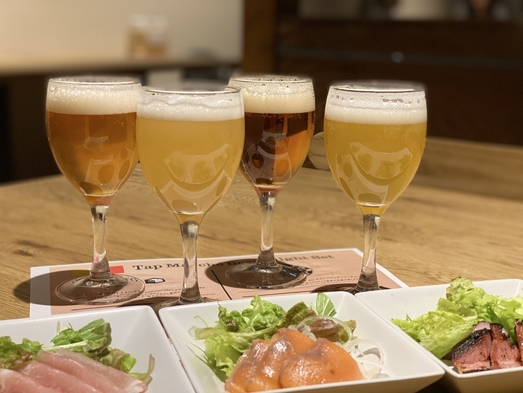【温泉やサウナを楽しんだあとはやっぱりビール!】クラフトビール飲み比べセット付き★2食付