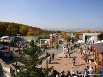 人気の観光スポット★旭山動物園までは、車で約60分