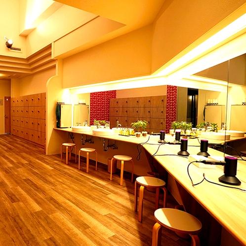 ■大浴場 化粧室■