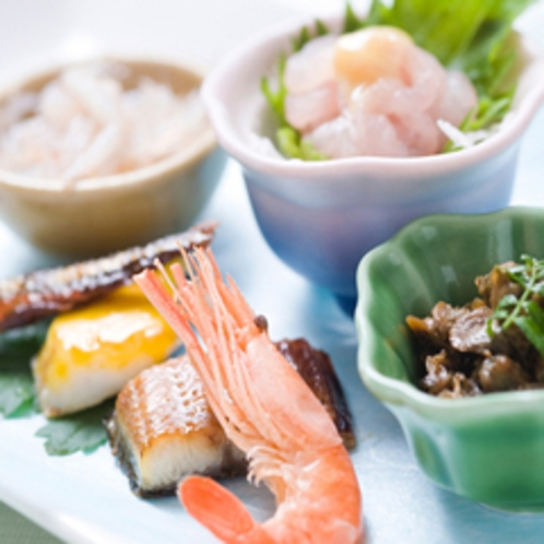 宍道湖七珍 前菜