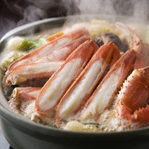 あつあつ蟹すき鍋!