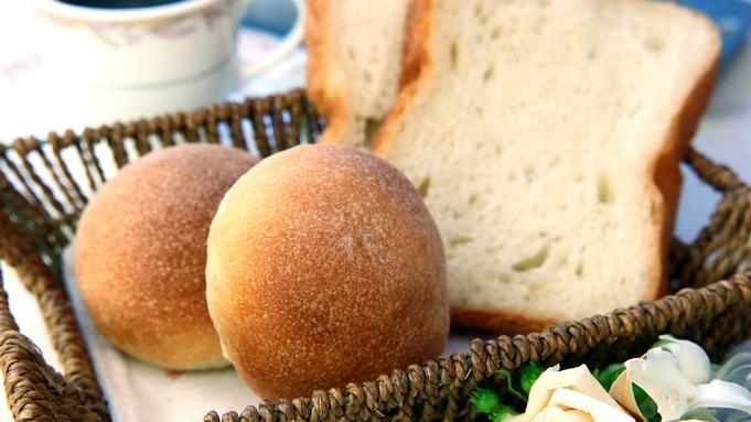 朝食付◆焼き立て 【手作り天然酵母パン】 ステンドグラス前でコーヒーと一緒に♪