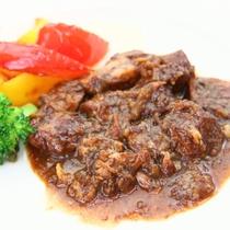 *本日の肉◆当館人気「豚肩ロースのバルサミコ酢煮」
