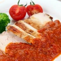 *本日の肉◆鶏ムネ肉粒マスタードソース