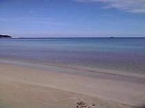 夏の穏やかな日本海