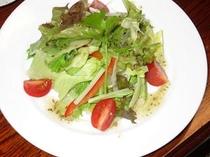 夏の料理の例サラダ