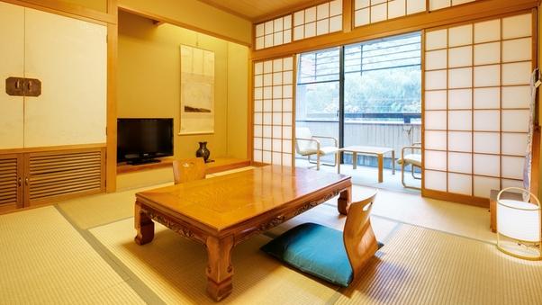 【和室】8〜10畳※夕食はお部屋食・朝食はお食事処