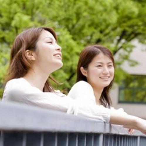 <プラン>旅女子〜橋の欄干にて