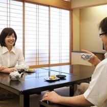 <プラン>常連様ご夫婦〜客室にて