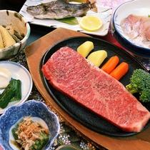 どどーんと米沢牛ステーキ(180g)
