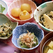 山菜郷土料理