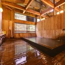 総ヒノキ大浴場
