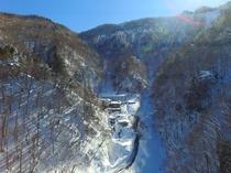 冬の新高湯