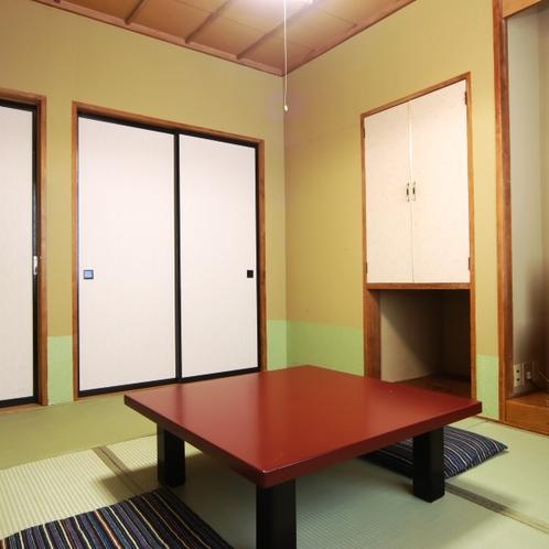 【和室6~8畳】バス・トイレ無し。