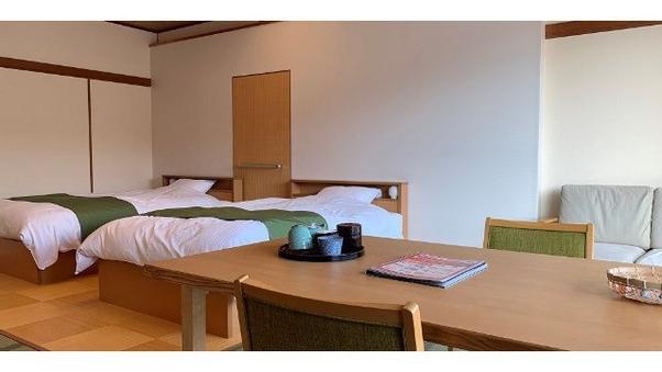 【ベッド&椅子テーブルのお部屋16畳】和洋室/禁煙