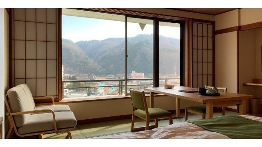 【和洋室】眺望の良いタイプのお部屋です