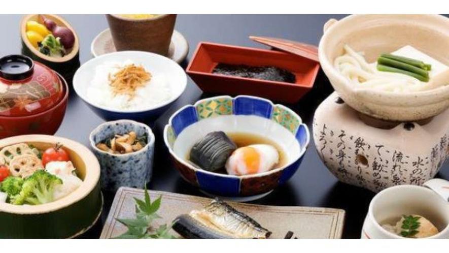 【朝食】バランスの良い和定食