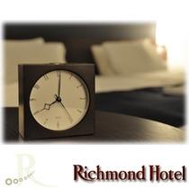 【全客室完備】秒針音の静かな目覚まし時計