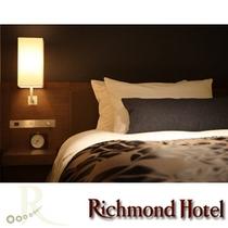 全客室シモンズ社製ベッドを採用。定評のシモンズ社製ベッドで上質な眠りをサポートします。