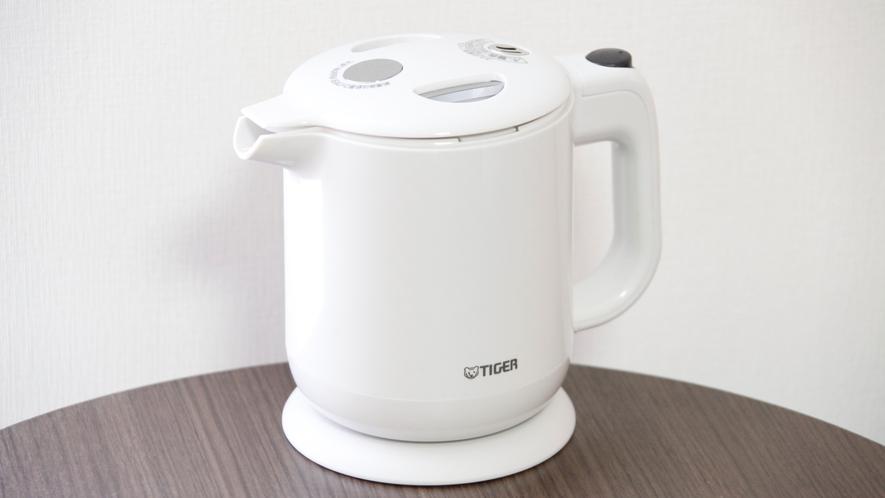 【全客室完備】湯沸かしポット