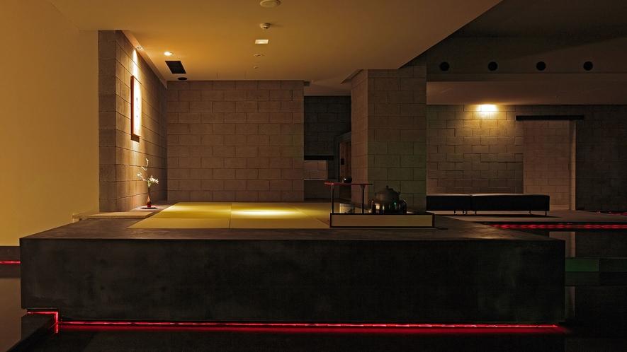 【茶室 夢窓庵】日本の伝統芸能における三道のひとつ、茶道をたしなむための茶室です。