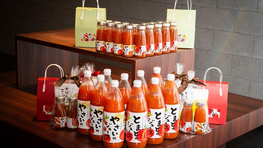 【shops N】自社農園のぐちファーム産の野菜を使用したジュースがおすすめ。