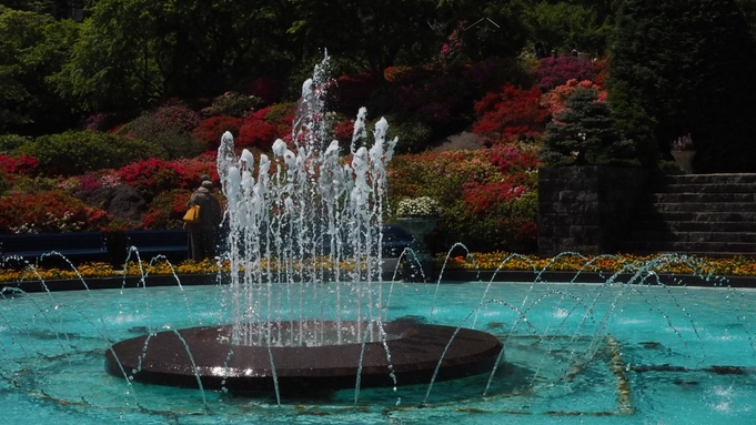 【朝食付】大涌谷の「石膏硫黄泉のにごり湯」温泉貸切OK!