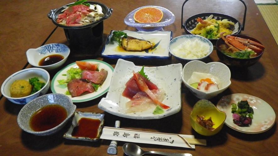 *【食事一例】箱根の地の物を生かした和食メニューをご用意いたします。