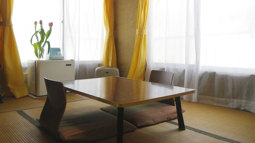 *【和室6~7.5畳/Wi-Fi完備】昔ながらの和室でゆったりとお寛ぎください。