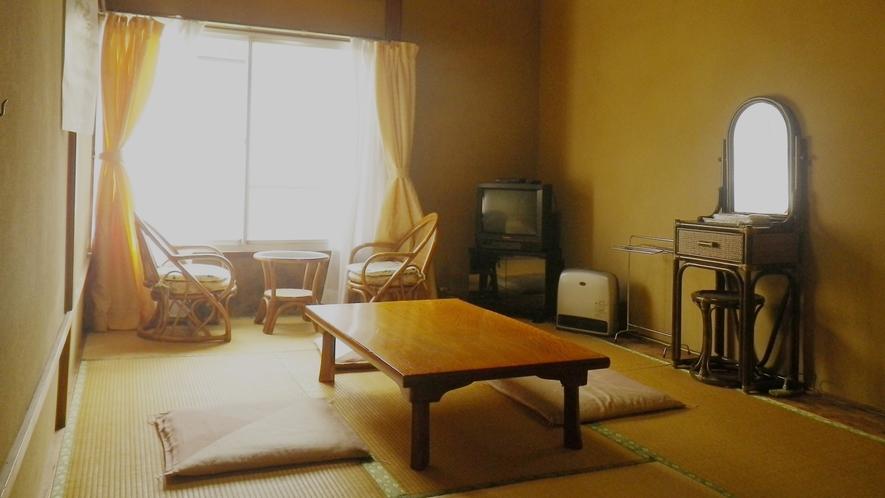 *【和室6~7.5畳/Wi-Fi完備】ほっと寛げる、畳敷きの客室です。