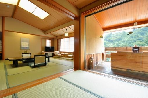 【全室禁煙】見晴らし館【和室12.5畳】露天風呂付特別室