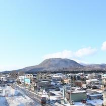 軽井沢の町並み