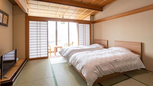 【禁煙】和室ベッド10畳☆若狭湾一望(バス&トイレ付)