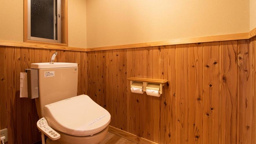*お部屋のお手洗い(全室 温水洗浄機付トイレ)