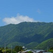 弥彦山遠景