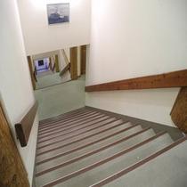 アネックス館内階段