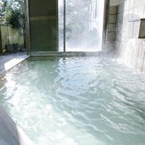 ■温泉でのんびりと