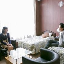 ■お部屋でのんびり